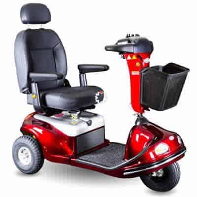 Enduro 3 wheel heavy-duty scooter