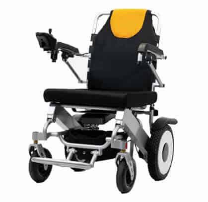 Moe light folding power portable wheelchair