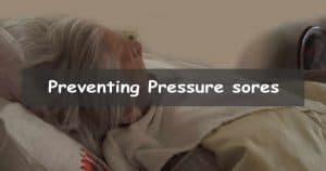 Prevent pressure sores