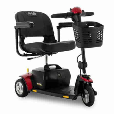 Pride Go-Go Elite Traveller 3-Wheel Scooter