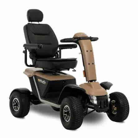 pride Wrangler 4-Wheel Scooter