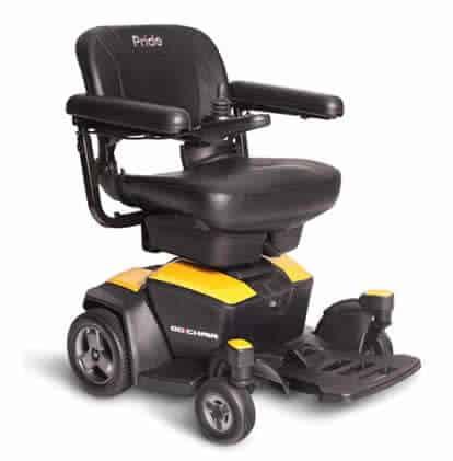 Pride Go heavy-duty electric wheelchair