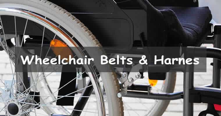 Seat belts for wheelchairs