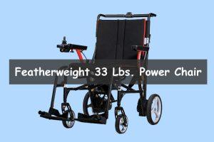 Featherweight 33 pound power chair